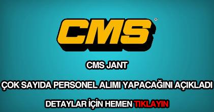 CMS personel alımı