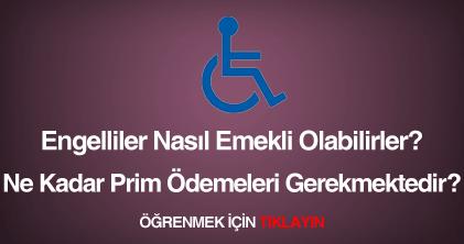 engellilerin emeklilik durumları