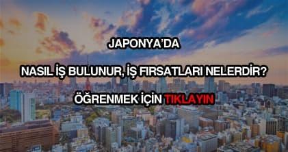 Japonya iş ilanları