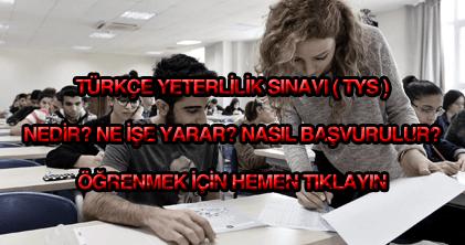 Türkçe Yeterlilik Sınavı
